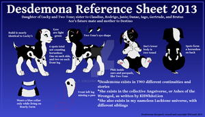 Desdemona Reference Sheet 2013 by XMizanX