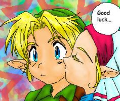 Good Luck Link... by luthien-surion