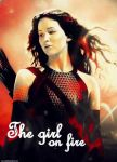 The girl on fire by Mrs-Reed