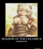 Shadow of the colossus demotivational by Gollum123