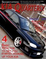 KIA Quarterly, Cover by WickedAwsome