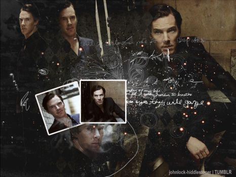 Benedict Cumberbatch Wallpaper by MoniiQuita