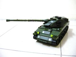 French WWII Tank Lorraine 40t 4 by SOS101