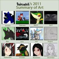 2011 Summary of Art by redninetails