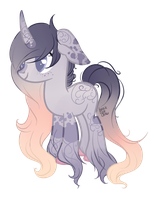 Purple Pastel Unicorn Auction-(CLOSED) by Faw-n