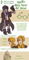 Uppun's Harry Potter Meme by opopoi
