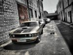 Ford Mustang Mach1 1969 by Erzaix