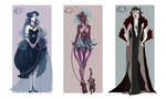 Freaky Cirque Adopts by Madlaid