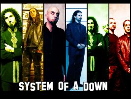 System of a Down 2nd version by Zeerooh