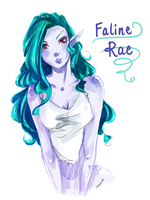 Faline Rae Again by seyuri