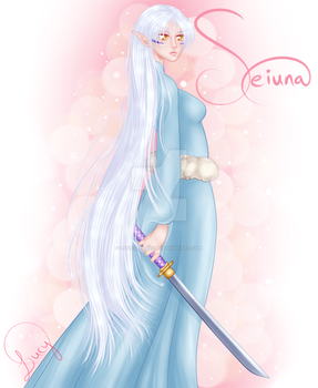 Seiuna and the Key by Lucille-Haden
