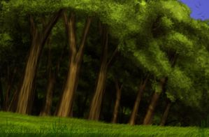 Forest Edge by Tephra76