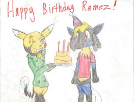 Ranze's brithday Gift by SparkyChan23