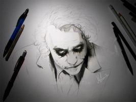 The Joker - WIP2 by kleinmeli