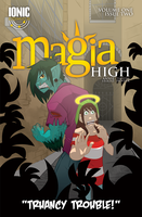Magia High Issue 2 Cover by annieawesomesauce
