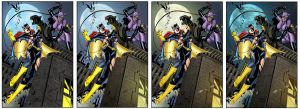 batgirl vs catwoman versions by rcardoso530