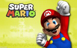 Super Mario (Yellow) - Wide by AleNintendo