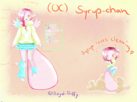 My cute tiny .:Syrup-chan:. (OC) by Royal-Fluffy