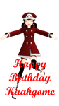 Happy Birthday Kaahgome by 2234083174