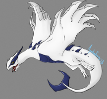Day 1 | Favorite Pokemon | Lugia by garrchomped