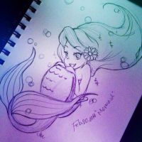 sketch dailies_Mermaid by asami-h