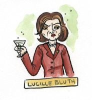 Villain 19 - Lucille Bluth by TRAVALE