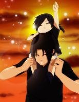 Prizeart: Numi and Itachi by annria2002
