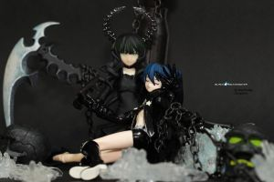 Black Rock Shooter Freestyle 4 by RaynFudge