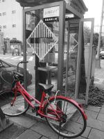 Superman's bike by cathyss02