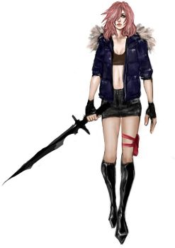 FFXIII Lightning Returns customisation by godalexa
