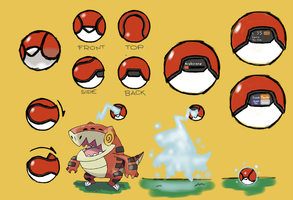Pokeball Redesign by NachtBeirmann