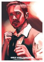 Only God Forgives illustration by JSWoodhams
