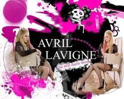 Avril Lavigne Wallpaper by bellapester