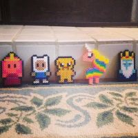 Adventure Time Perler Creations by Blackxdiamond14