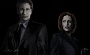 X-Files 20th Anniversary by Nia90