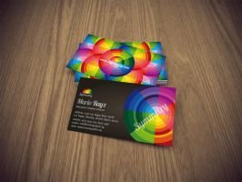 Symmetry business card by Lemongraphic