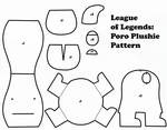 League of Legends: Poro Plushie Pattern by GrnMarco