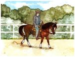 Bukhara at DGR's Western Dressage by oxpecker