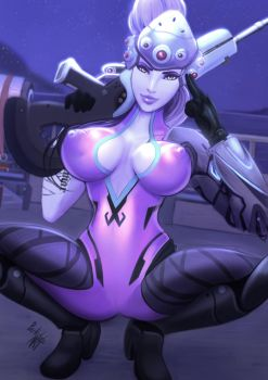 Widowmaker Commission by ParkdaleArt