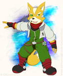 Fox McCloud by GallantZale