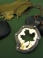Maple Leaf Necklace by AbandonedMemory