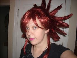 Flannery wig mostly done by Chibi-Rai-Chan