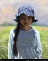the girl by monicakuo