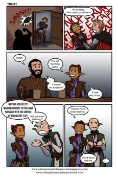 Champions and Heroes: Trust [DAI spoilers] by Ddriana