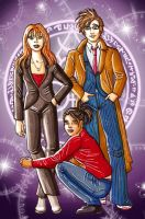 Team TARDIS by Larissa-Bright