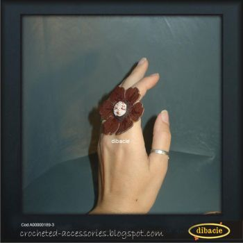 Flower baby ring by dibacie
