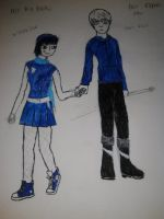 New story characters wishing star and jack frost by art-is-my-bream