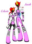 Ben 10 Omniverse OCs - Celeste and Jacob by ImaginationDiva