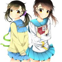 Onodera Sisters by coxcomb777
