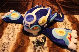 Primal Kyogre Plush - Pokemon Alpha and Omega by Forge-Your-Fantasy